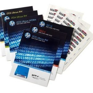 Hpe Ultrium 6 Rw Bar Code Label Pack