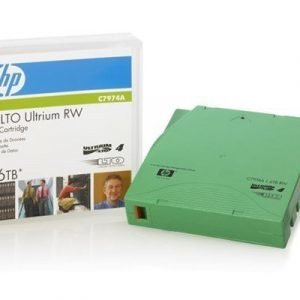 Hpe Ultrium Non-custom Labeled Data Cartridge