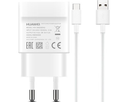 Huawei Fast Charger Usb-c Valkoinen