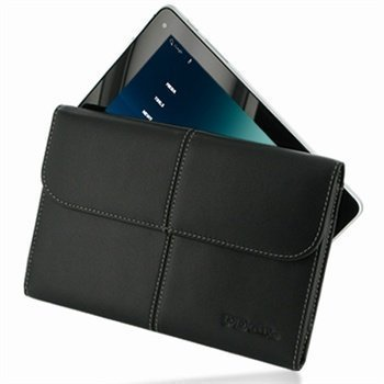 Huawei MediaPad S7-301w PDair Leather Case 3BHWMPEX1 Musta