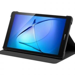 Huawei Mediapad T3 7'' Flip Cover Suojakotelo Musta