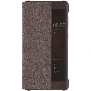 Huawei Smart View Flip Case Huawei Mate 9 Pro Ruskea