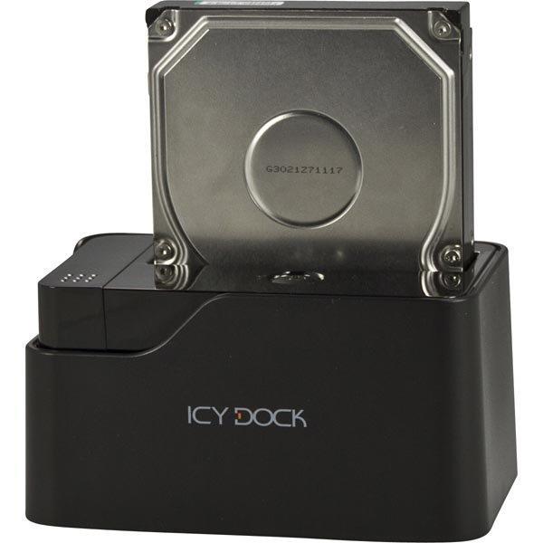 """ICY DOCK USB 3.0 suoratelakka 2 5- ja 3 5"""" ATA-133/SATA 6Gb/s"""""""