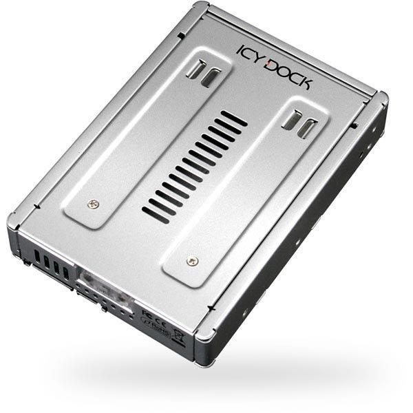 """ICY DOCK sisäinen kiintolevykasetti jossa paikka 1x2 5 SATA-/SSD"""""""