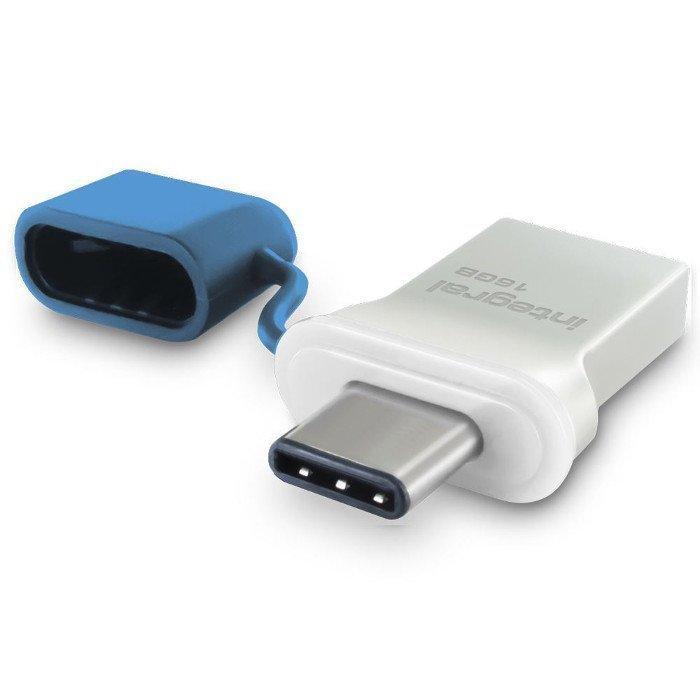 INTEGRAL 16 Gt Tyyppi-C USB ja Tyyppi-A USB 3.0 Muistitikku -