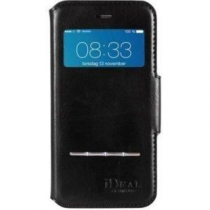 Ideal Of Sweden Ideal Swipe Wallet Läppäkansi Matkapuhelimelle Iphone 6/6s Musta