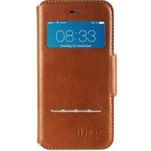 Ideal Of Sweden Ideal Swipe Wallet Läppäkansi Matkapuhelimelle Iphone 6/6s Ruskea