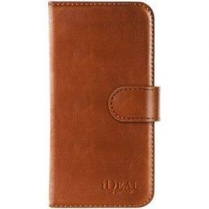 Ideal Of Sweden Magnet Wallet+ Läppäkansi Matkapuhelimelle Iphone 6/6s Ruskea
