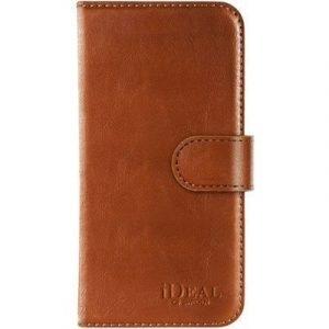 Ideal Of Sweden Magnet Wallet+ Läppäkansi Matkapuhelimelle Iphone 7 Plus Ruskea