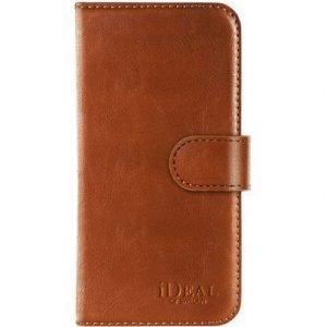 Ideal Of Sweden Magnet Wallet+ Läppäkansi Matkapuhelimelle Iphone 7 Ruskea