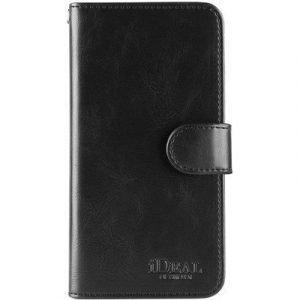 Ideal Of Sweden Magnet Wallet+ Läppäkansi Matkapuhelimelle Samsung Galaxy S7 Edge Musta