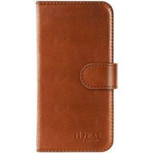 Ideal Of Sweden Magnet Wallet+ Läppäkansi Matkapuhelimelle Samsung Galaxy S7 Ruskea