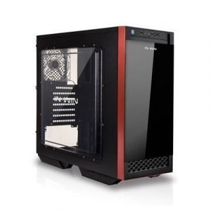 In Win 503 Atx Case Black Musta Punainen