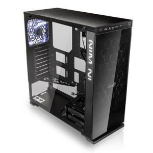 In Win 805c Iear Atx Case Black Musta