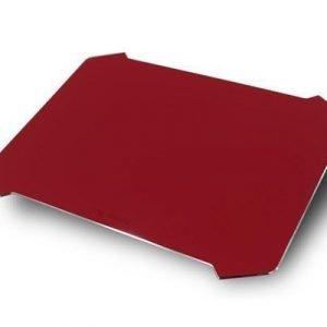 In Win Batmat Aluminum Gaming Mouse Pad Red
