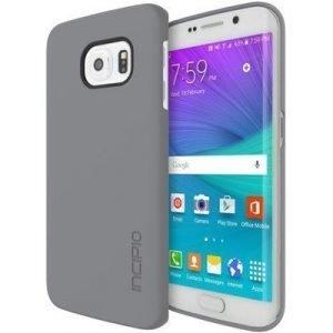 Incipio Feather Takakansi Matkapuhelimelle Samsung Galaxy S6 Edge Harmaa