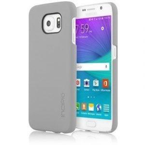 Incipio Feather Takakansi Matkapuhelimelle Samsung Galaxy S6 Harmaa