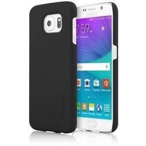 Incipio Feather Takakansi Matkapuhelimelle Samsung Galaxy S6 Musta