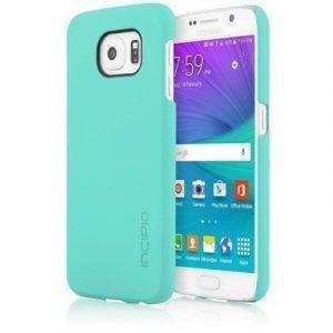 Incipio Feather Takakansi Matkapuhelimelle Samsung Galaxy S6 Turkoosi