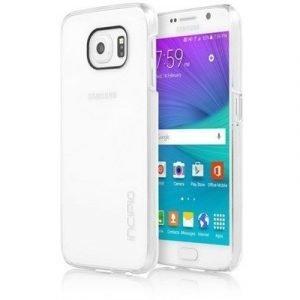 Incipio Feather Takakansi Matkapuhelimelle Samsung Galaxy S6 Väritön