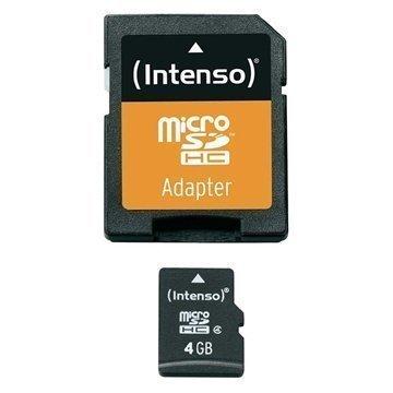 Intenso 3403450 MicroSDHC Muistikortti 4Gt