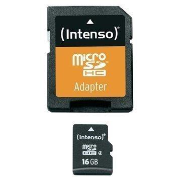 Intenso 3403470 MicroSDHC Muistikortti 16Gt