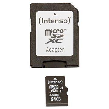 Intenso 3423490 Premium MicroSDXC Muistikortti 64Gt
