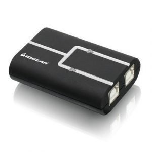 Iogear 2-port Usb 2.0 Printer Auto - Gub211