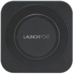 Iport Launchport Wall Station Black