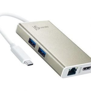 J5 Create Jca374 Usb 3.0 Type-c Multi-adapter