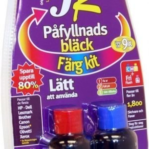 JR Inkjet refill väri