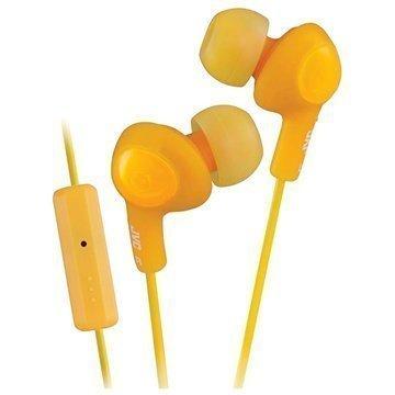 JVC HA-FR6-B-EX Gumy Plus In Ear Kuulokkeet Oranssi