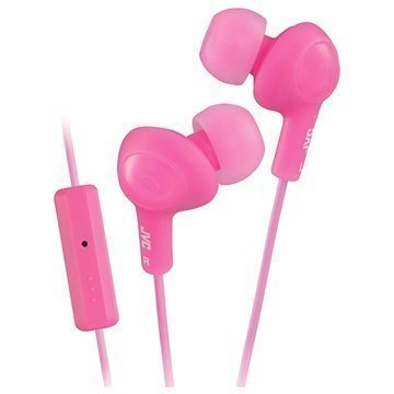 JVC HA-FR6-B-EX Gumy Plus In Ear Kuulokkeet Pinkki
