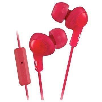 JVC HA-FR6-B-EX Gumy Plus In Ear Kuulokkeet Punainen