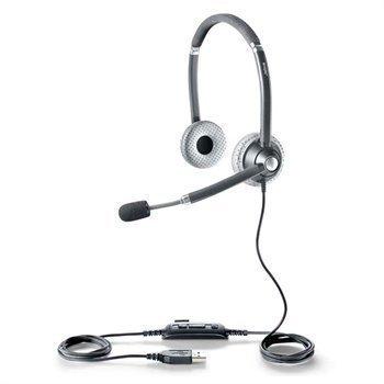 "Jabra UC Voice 750 MS Duo USB Mikrofonikuulokkeet â"" Harmaa"
