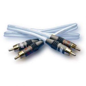Jenving Dual Rca Cable Rca Phono X 2 Uros Rca Phono X 2 Uros Vaaleansininen 5m