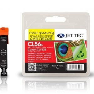 Jet Tec Cli526 Black Mustekasetti