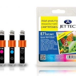 Jet Tec E71b 4-Väri Mustekasetti