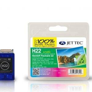 Jet Tec H22 Colour Mustekasetti