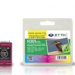 Jet Tec Hp301cxl Colour Mustekasetti