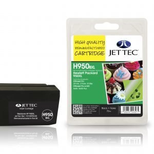 Jet Tec Hp950bxl Black Mustekasetti