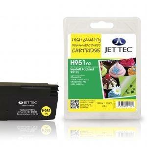 Jet Tec Hp951yxl Yellow Mustekasetti