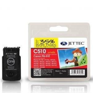 Jet Tec Pg-510 Black Mustekasetti