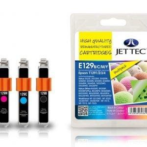 Jet Tec T1291/2/3/4 4-Väri Mustekasetti