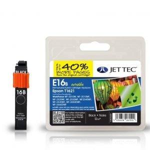 Jet Tec T1621 Black Mustekasetti
