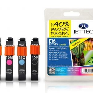 Jet Tec T1621/2/3/4 4-Väri Mustekasetti