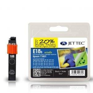 Jet Tec T1801 Black Mustekasetti