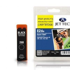 Jet Tec T2601 Black Mustekasetti