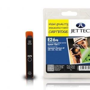 Jet Tec T2611 Photo Black Mustekasetti