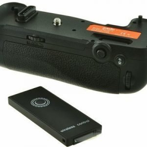 Jupio Akkuote Nikon D500 (mb-d17) + 2.4ghz Fjärrutlösare
